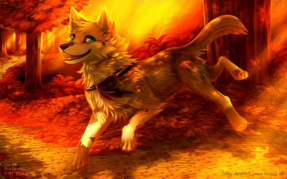 :: Autumn Spirit :: by Rashuu