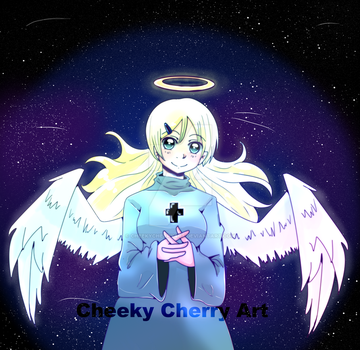 Angel by CheekyCherryArt