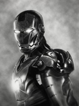 Iron Man Sketch by BuZzBoX88