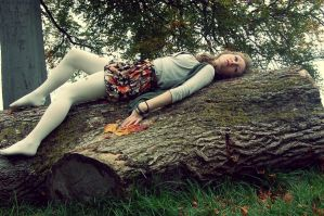 Girl in Autumn by SarahCleary