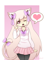 Contest entry  - Kittenhime by XAngelFeatherX