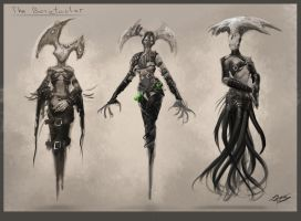 The Benefactor  Initial Designs by Daz18