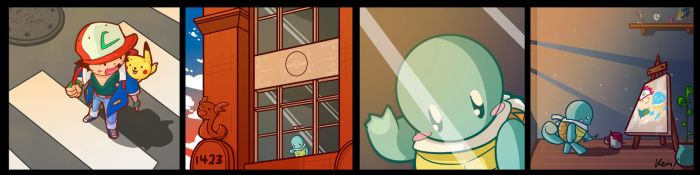 Squirtle: Best Friends by SHIBUYA401