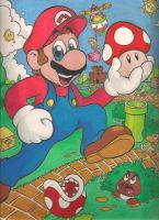 Super Mario by mattdog1000000