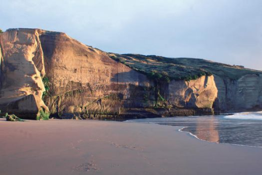 Tunnel Beach 4 by MintMannequin