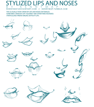 Lips and Noses by kennymap
