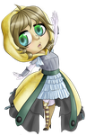 Broken Souls - Knight's Apprentice Chibi by A-Foxi-Reminder