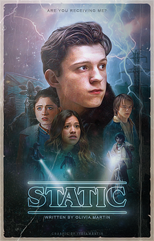 Static   Wattpad Cover by newtalism