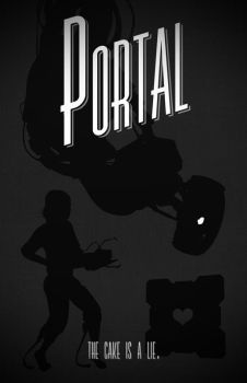 Portal poster by billpyle