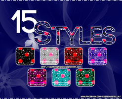 15 STYLES by HeartWithInk