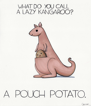 What do you call a lazy kangaroo? by arseniic