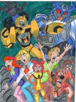 MYSTERY INCORPORATED MEETS ANIMATED 3 (remake) by VectorMagnus2011