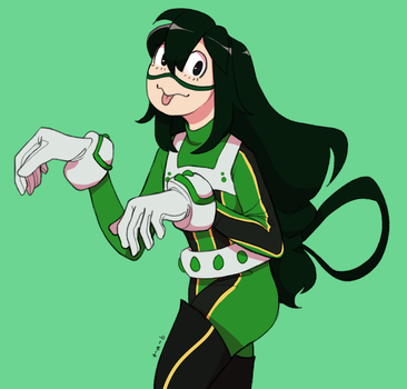 Tsuyu by Thoughts-and-Bubbles