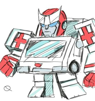 Transformers QT Ratchet by AndyTurnbull