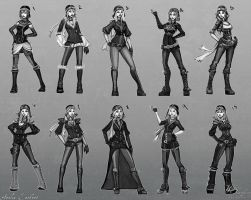 Amelia Earhart Redesign Thumbs by YBourykina