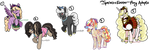 Spring/Easter Pony Adopts [OPEN 2/5] by azume-adopts