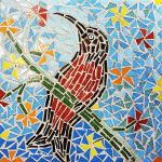 Scarlet-chested sun bird - table 6 by SamanthaJordaan