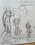 Team warriors height chart sketch by villyvalley16