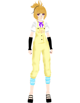 [MMD] [FNAF] |WIP |||Chica| ver. 2| FINAL by Natsumy-Paradise