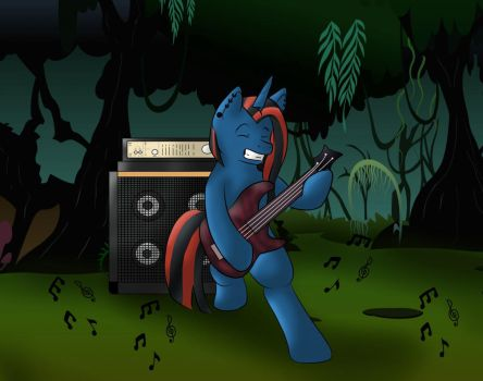 [[AT]]Bass in the Forest by EppikPhayle