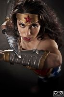 Margie Cox as Injustice Wonder woman 3 by moshunman