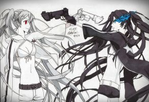 Black Rock Shooter by BetaSix