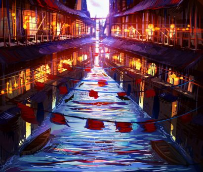 Canal City by ryky