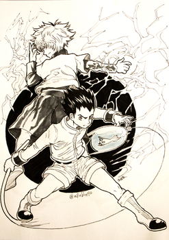 Day 24 - Hunter x Hunter by Afroblue72