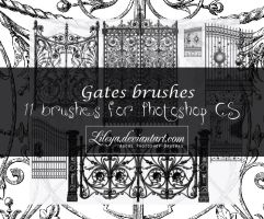 Gates brushes by Lileya