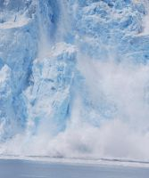 Falling Glacier Stock 2 by prints-of-stock