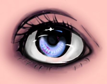 Improved eye drawing by gwen124