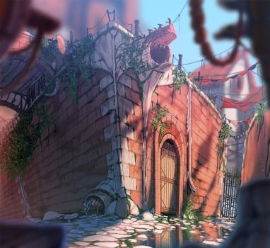 ABRAXAS: The Back Alley by painted-bees