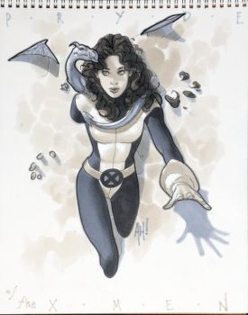 Pryde of the X-Men by AdamHughes