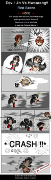 Devil Jin Vs Hwoar_1st.Scene.. by JinoSan