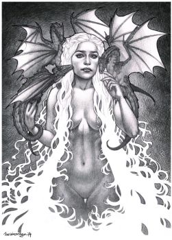Khaleesi Commission finished! by Chiisa