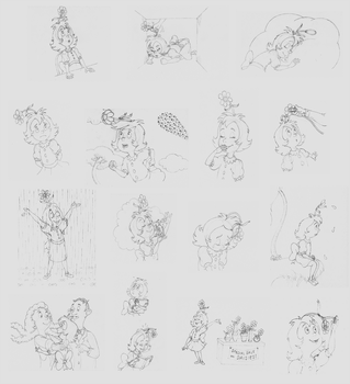 daisy head mayzie coloring pages printouts | #daisyheadmayzie | Explore daisyheadmayzie on DeviantArt