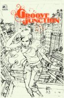 Groove Junction 2 Cover Pencil by astrobrain