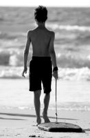 Young surfer by S-t-r-a-n-g-e