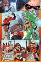 The Incredibles sample page by Red-J