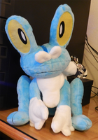 Froakie Plush by saiyamewome