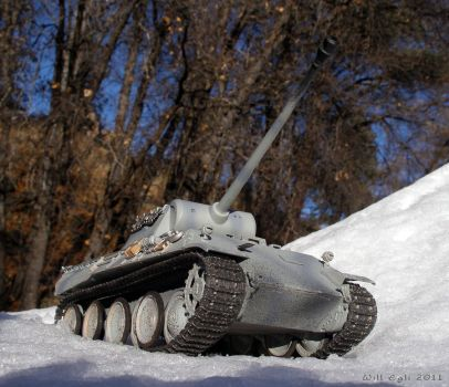 Panther Tank on the Roll by SurfTiki