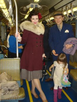 NYC - Museum R1-9 train - 2nd Ave - Dec 2012 by capt-sub