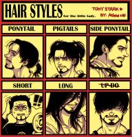 Iron Man-Tony's hair meme by Athew