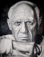 Pablo Picasso by number9design