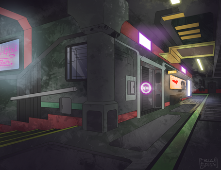 The Sprawl Hallway by Chilled-Space