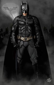The Dark Knight Rises by aibrean