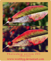 Photoshop Action-Nature Colors by worthyG