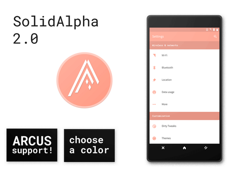 SolidAlpha 2.0 - CM13 Theme by SolidKakadu