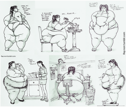 The Weight Gain of Jenny Weng, Pt 2 by Ray-Norr