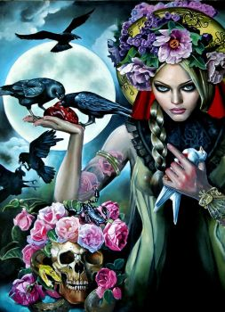 Madonna of the Crows by Italia-Ruotolo-Art